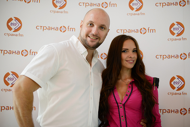 Ксения Чураева и Маклюткин Николай