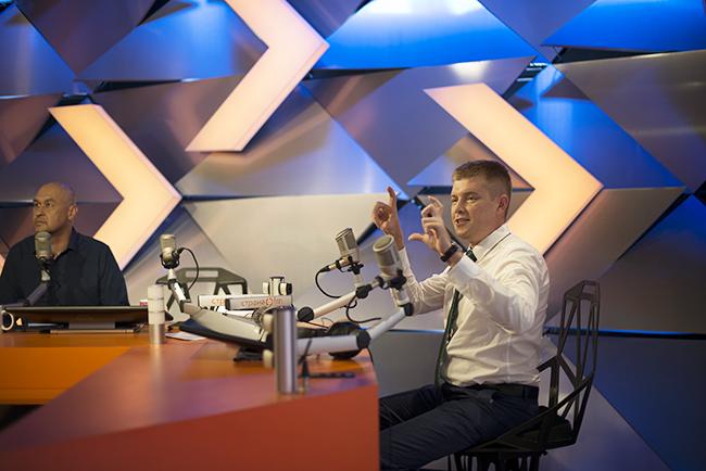Павел Ларин руководитель по связям с общественностью Столичного филиала компании МегаФон